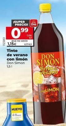 Oferta de Tinto de verano Don Simón por 0,99€