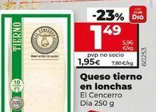 Oferta de Queso tierno por 1,49€