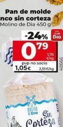Oferta de Pan de molde por 0,79€