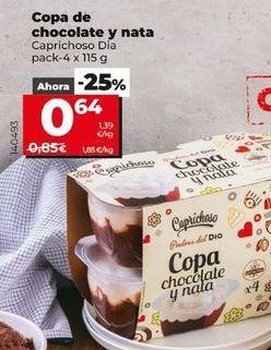 Oferta de Postres por 0,64€