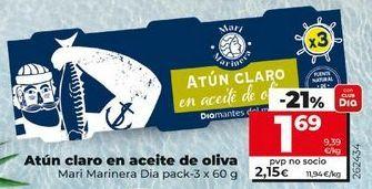 Oferta de Atún claro por 1,69€