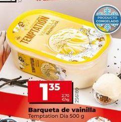 Oferta de Helado de vainilla por 1,35€