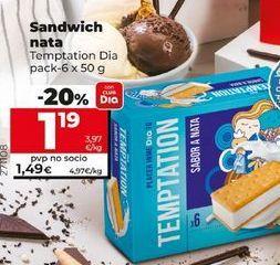 Oferta de Helado sandwich por 1,19€