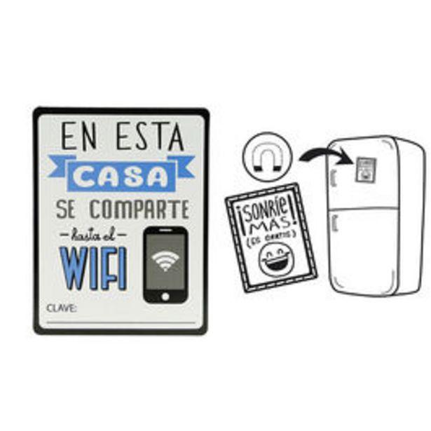 Oferta de IMAN COMPARTE WIFI por 1€