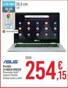 Oferta de ASUS Portátil Z1400CN-BV0339 por 254,15€