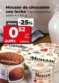 Oferta de Mousse de chocolate por 0,52€