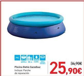 Oferta de Piscina Bahía Carrefour por 25,9€