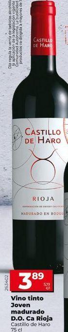 Oferta de Vino tinto por 3,89€