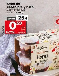 Oferta de Postres por 0,59€