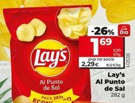 Oferta de Patatas fritas Lay's por 1,69€