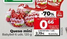 Oferta de Queso mini Babybel por 2,19€