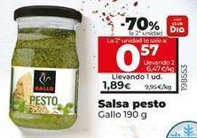 Oferta de Salsa pesto Gallo por 1,85€