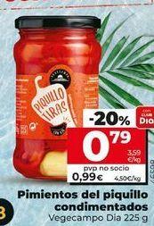 Oferta de Pimientos del piquillo por 0,79€