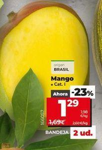 Oferta de Mangos por 1,29€