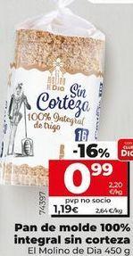 Oferta de Pan de molde por 0,99€