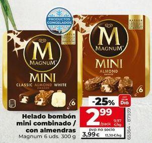 Oferta de Bombón helado Magnum por 2,99€