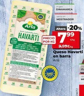 Oferta de Queso havarti Arla por 7,99€