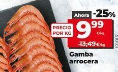 Oferta de Gambas por 9,99€