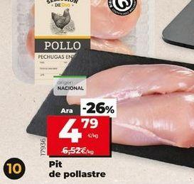 Oferta de Pechuga de pollo por 4,79€
