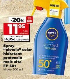 Oferta de Protector solar Nivea por 11,95€