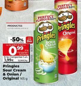 Oferta de Snacks Pringles por 1,99€