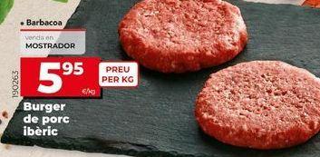 Oferta de Hamburguesas por 5,95€