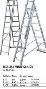 Oferta de Escalera multiposición por