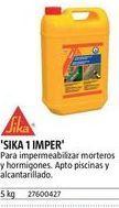 Oferta de Impermeable sika por