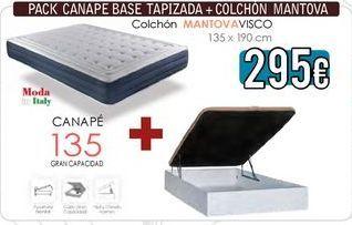 Oferta de Canapé abatible por 295€