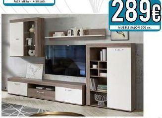 Oferta de Muebles de salón por 289€