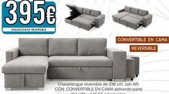 Oferta de Chaise longue con cama por 395€