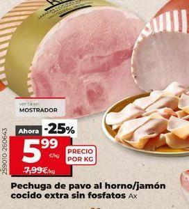 Oferta de Pechuga de pavo por 5,99€