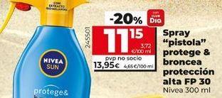 Oferta de Protector solar Nivea por 11,15€