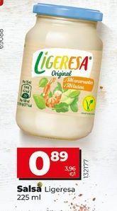 Oferta de Salsas Ligeresa por 0,89€