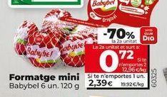 Oferta de Queso mini Babybel por 2,39€