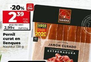 Oferta de Jamón curado Navidul por 2,39€