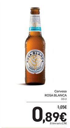 Oferta de Cervesa ROSA BLANCA por 0,89€