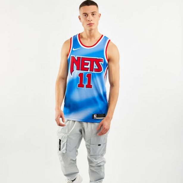 Oferta de Nike Brooklyn Nets Iriving Hardwood Classic Swingman Jersey por 49,99€