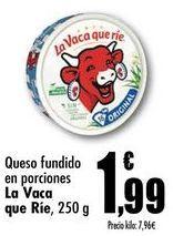 Oferta de Queso fundido en porciones La Vaca que Rie, 250g por 1,99€