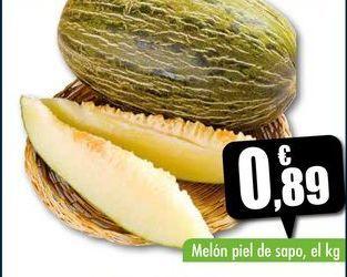 Oferta de Melón piel de sapo, el kg por 0,89€