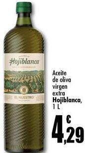 Oferta de Aceite de oliva virgen extra Hojiblanca, 1L por 4,29€