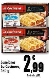 Oferta de Canelones La Cocinera, 530g por 2,99€