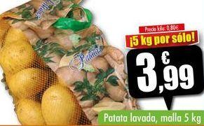 Oferta de Patata lavada, malla 5kg por 3,99€