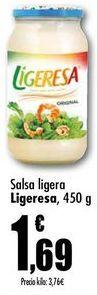 Oferta de Salsa ligera Ligeresa, 450g por 1,69€