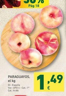 Oferta de PARAGUAYOS, el kg por 1,49€