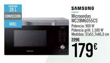 Oferta de SAMSUNG Microondas MC28M6055CS por 179€