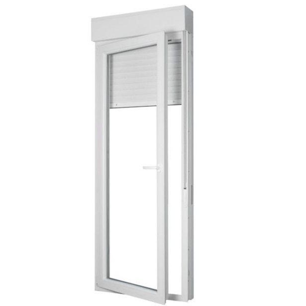 Oferta de BALCONERA PVC PRACTICABLE BLANCA 218X80 IZQUIERDA por 379€