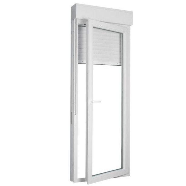Oferta de BALCONERA PVC PRACTICABLE BLANCA 218X80 DERECHA por 379€