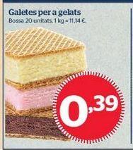 Oferta de Galletas por 0,39€