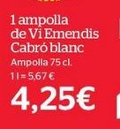 Oferta de Vino blanco por 19,99€